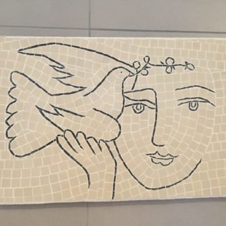 Picasso Dove Mosaic