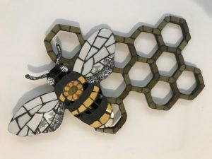 Honeycomb Bee £65 - 35 cm X 29 cm approx
