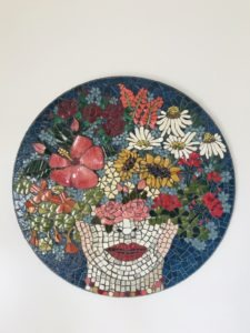 Nothing But Flowers - £450 - 70 cm diameter