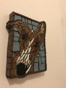 Lazy as a Long Dog - £38 - 18 cm X 14 cm