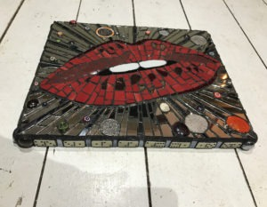 Money Talks Crypto Lips - £200 - 36 cm X 31 cm